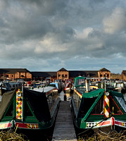 Barton Turns Marina, Barton under Needwood