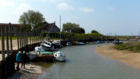 the harbour village of Blakeney