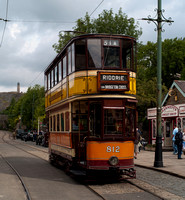 Crich Tramway Museum, August 2012